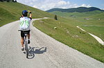 Leise Wanderweg Mountainbiken in Asiago