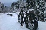 Sonntag, 17. Januar 2016 Schnee, Fat Bike, entspannen und saubere Luft!