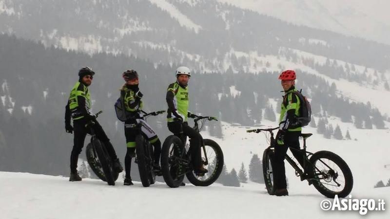 Val formica e slalom con le fat bike for Offerte weekend asiago