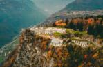 EXCURSION TO FORTE DI PUNTA CORBIN unter den Farben des Herbstes