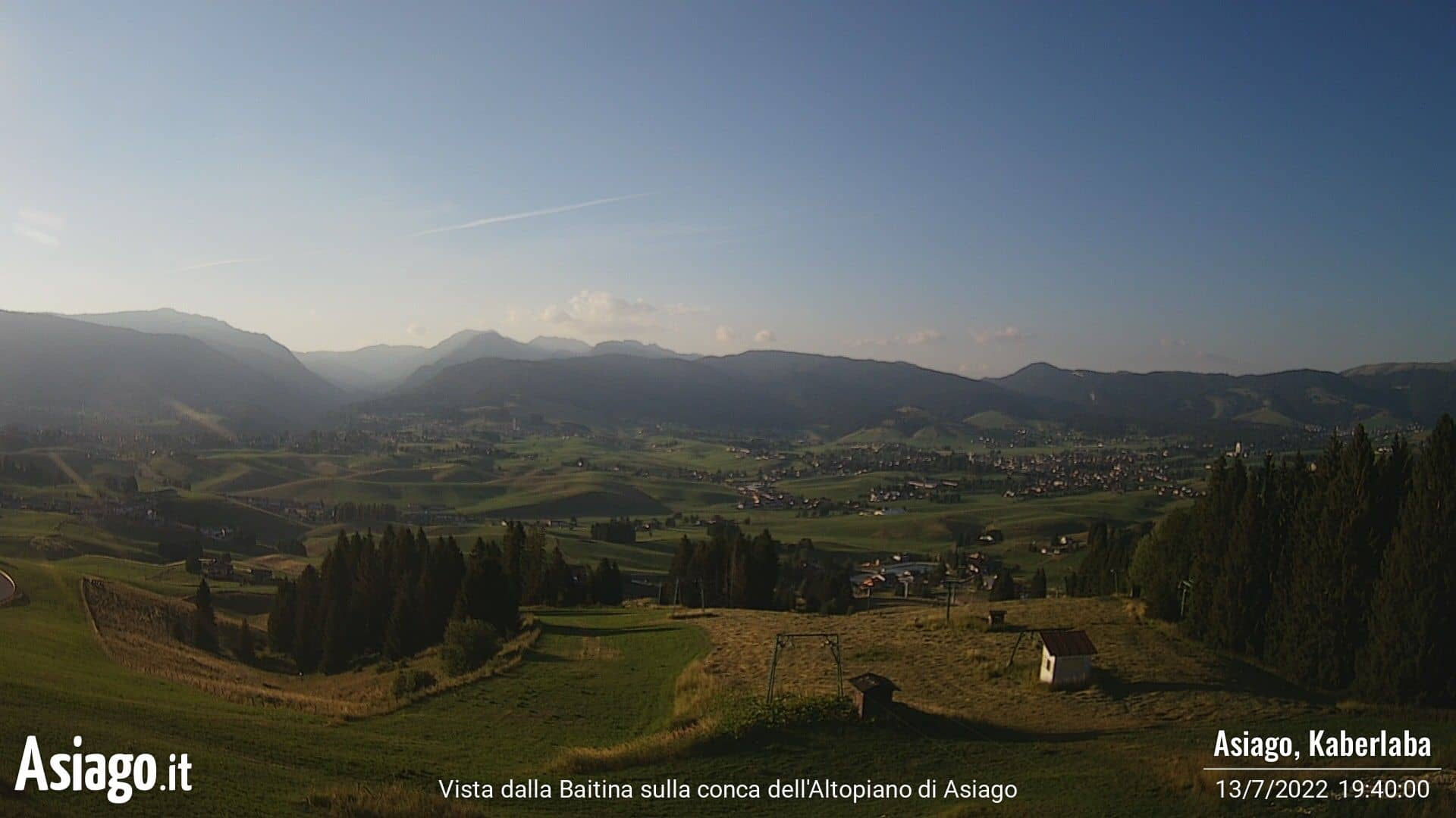 Webcam Live La Baitina Asiago