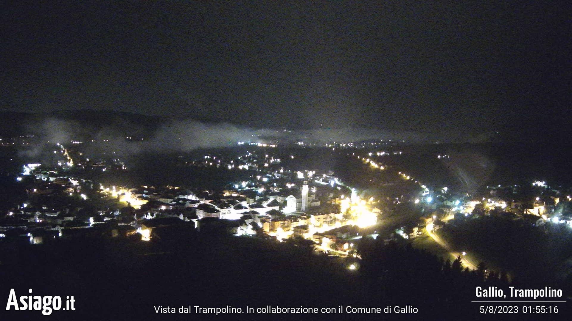 Webcam live dal trampolino di Gallio