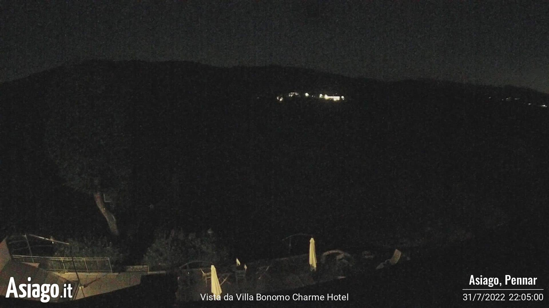 Live Webcam vom Golf Hotel Villa Bonomo