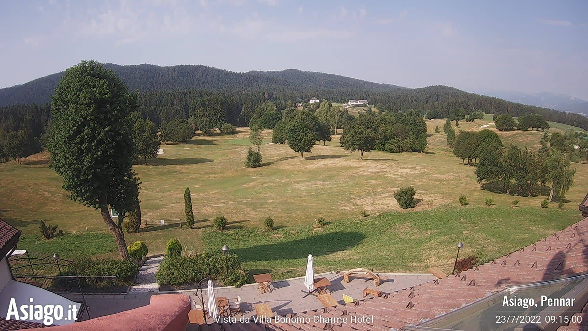 Webcam Golf Villa Bonomo Asiago