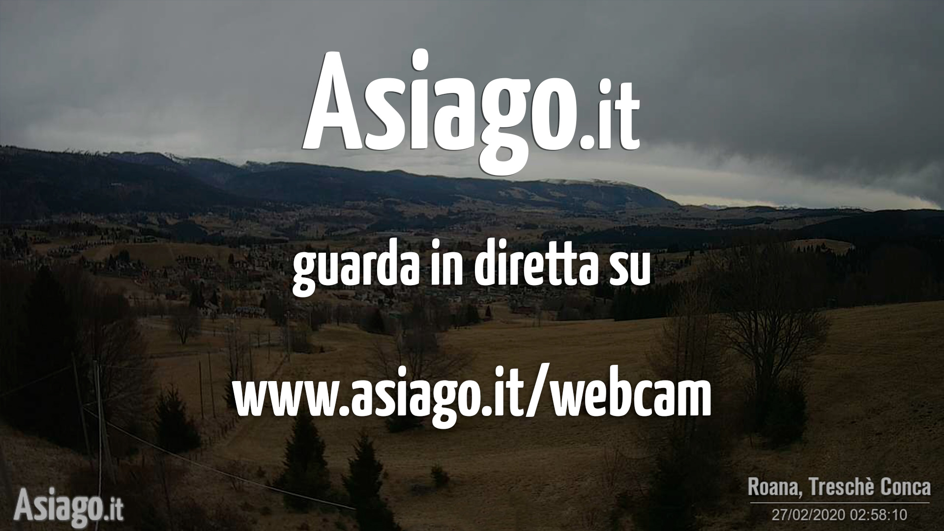Webcam live di Asiago.It dal Ristorante La Quinta