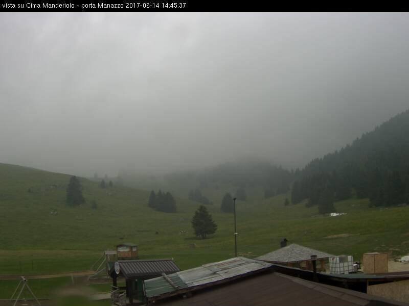 Webcam panorama verso Cima Mandriolo - Val Formica