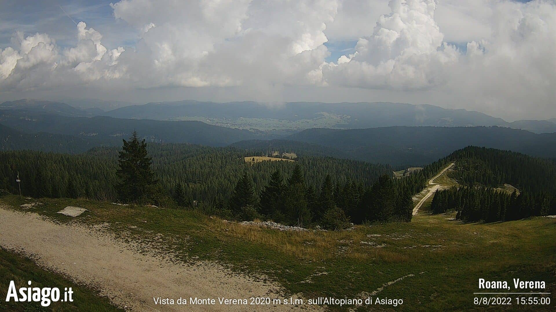 WEBCAM MONTE VERENA
