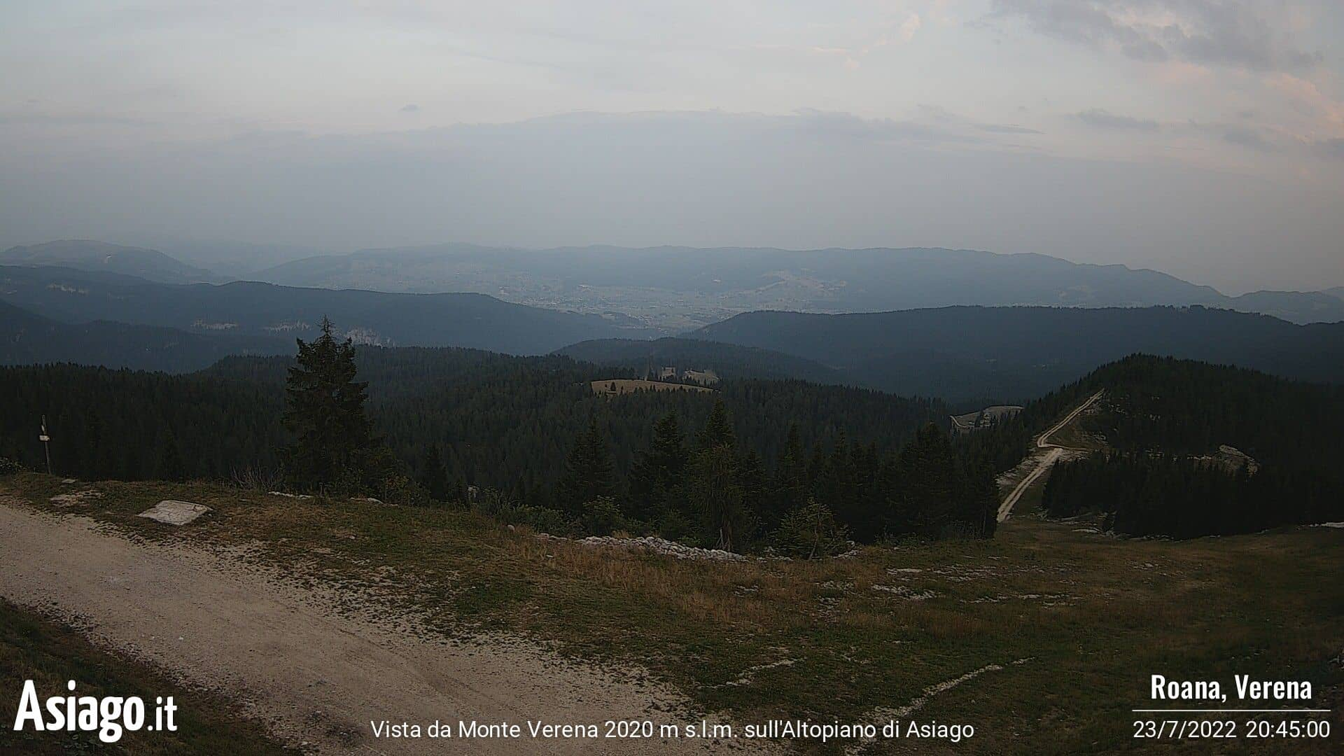 Webcam Monte Verena - Asiago