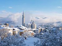Panoramica invernale enego