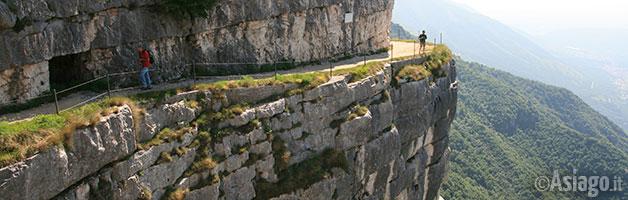 Salto del Granatiere - Monte Cengio, Comune di Roana
