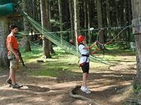 allenamento istruttore agility forest baita prunno asiago