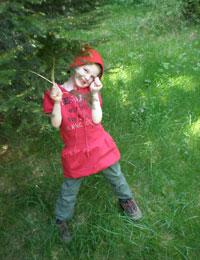 Bambini natura altopiano asiago