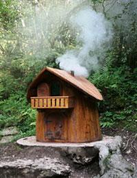 La piccola casetta, dove abitano gli gnomi dell'Altopiano