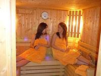 Area Benessere con sauna