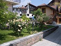 Fiori nel giardino del bb verena