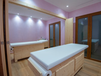 Lettini per massaggi centro benessere
