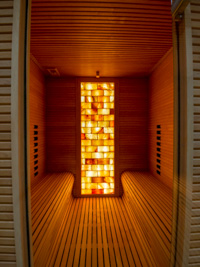 Sauna infrarossi centro benessere