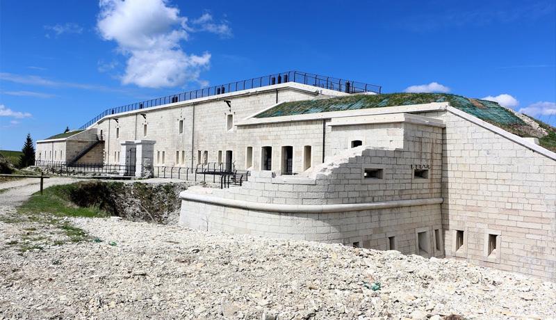 Il Forte Lisser dopo il restauro