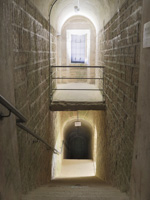 Scalinata interna del Forte Lisser