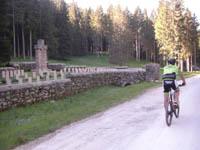 escursione mtb cimetero del barenthal