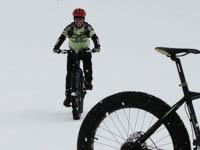 escursione mtb sulla neve altopiano asiago