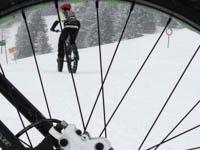 itinerario mountain bike innevato ottocentopercento