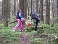 orienteering nel bosco