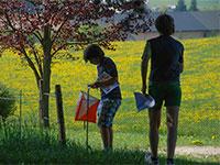 ragazzi orienteering