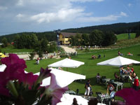Il giardino dell'albergo