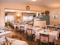 La Sala da pranzo del Ristorante