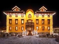 Il fascino invernale dell'Asiago Sporting Hotel con la neve