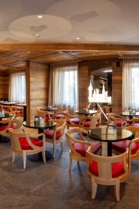 La sala del bar bistrot, per un drink o uno snack veloce