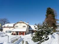 L'albergo in inverno