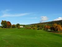 Vista sui campi da golf dell'Hotel