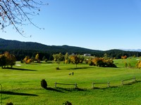 Il panorama dal Golf Hotel
