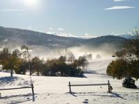 Il panorama invernale