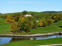 Vista sull'Hotel dai campi da golf