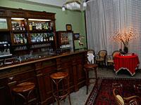 Bancone bar Hotel Croce Bianca