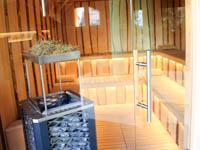 Esterno sauna