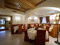 Il ristorante dell'albergo