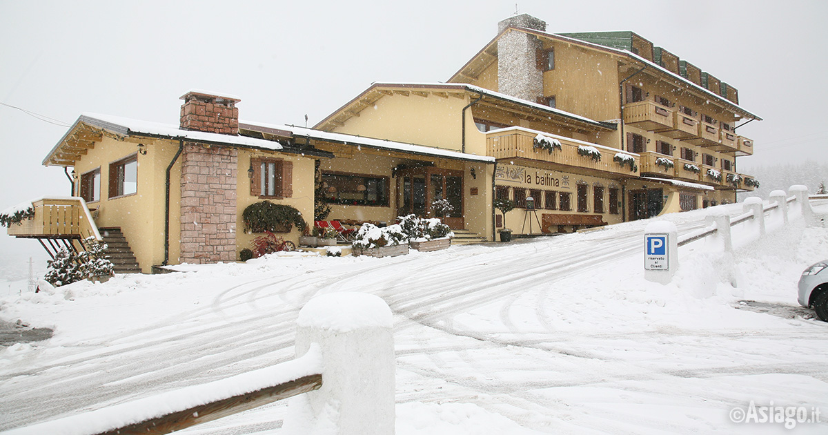 Hotel La Baitina Hotel A Tre Stelle Ad Asiago Altopiano