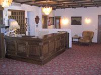 Hall dell'Hotel Miramonti