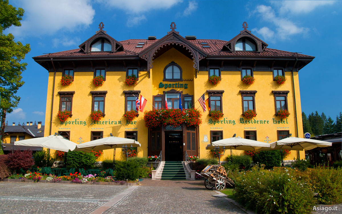 Hotel sporting residence residence a quattro stelle ad for Offerte hotel asiago