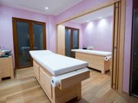 Cabina massaggi a Villa Ciardi