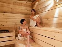 Relax nella sauna