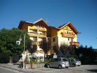L'Hotel Belvedere a Cesuna