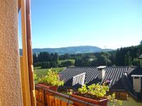 Il panorama che si può ammirare dall'Hotel Belvedere