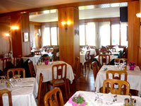 L'elegante sala da pranzo del Ristorante