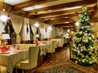 Ristorante addobbi natalizi bocchetta conco