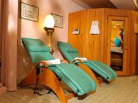 Sauna e lettino massaggi